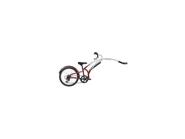 ADAMS Folding Steel 7speed Trail a Bike Burgundy/Charcoal click to zoom image