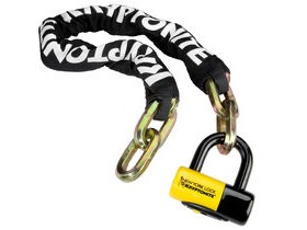 KRYPTONITE New York Fahgettaboudit chain and chain and NY disc lock 100 cm