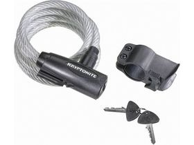 KRYPTONITE Keeper value key cable lock with bracket (10 mm x 180 cm)