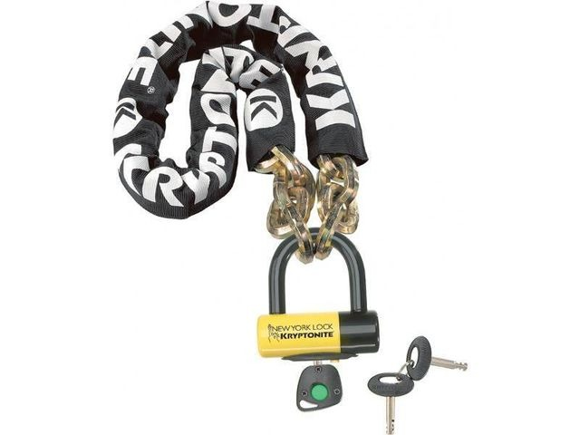 KRYPTONITE New York Fahgettaboudit chain and padlock 100 cm click to zoom image