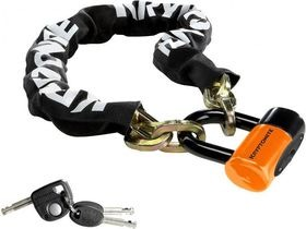 KRYPTONITE New York chain with series 4 disc lock 3 ft 3 in (100 cm)
