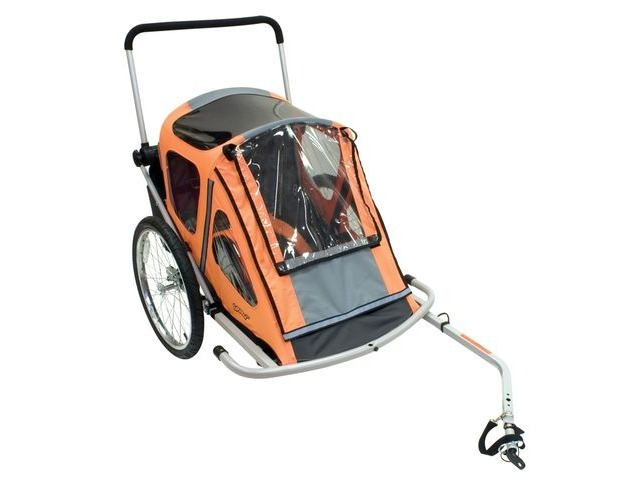 BUMPER Explorer Duo Childs Cycle / Bike Trailer click to zoom image