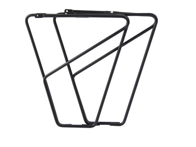 M-PART FLR front low rider rack for braze on fitting alloy black click to zoom image