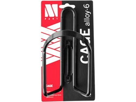 M-PART Bottle cage Alloy 6 mm aluminium black