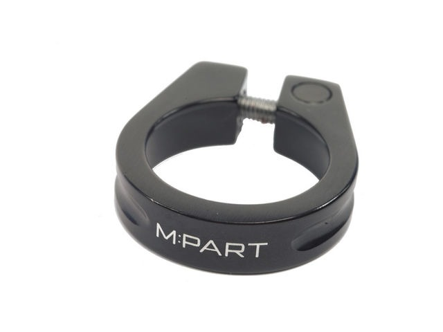M-PART Threadsaver seat clamp 28.6 mm, black click to zoom image