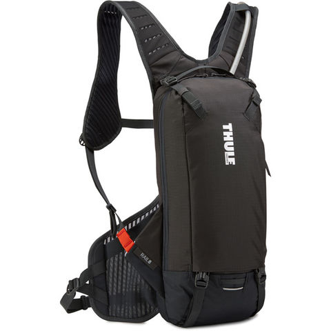 Thule Rail hydration backpack 8 litre cargo, 2.5 litre fluid - black click to zoom image
